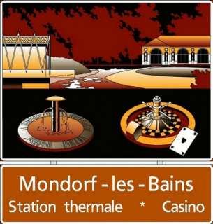 Mondorf-les-Bains : Station thermale - Casino